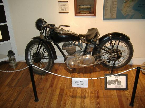 Alta Gracia, Argentina: moto que perteneció al Che