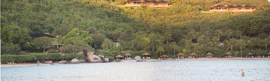Rosewood Little Dix Bay: Hotel Grounds