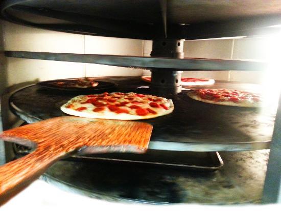 The Pizzeria: Pizza Oven