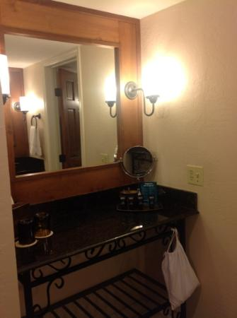 The Scott Resort & Spa: 2 Vanities - nice use of space for my stuff