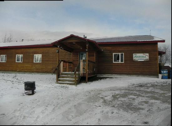 Bettles Lodge: The winter lodge (Aurora Lodge)