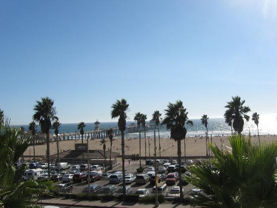 view from our balcony picture of kimpton shorebreak. Black Bedroom Furniture Sets. Home Design Ideas