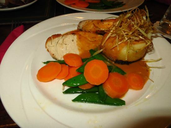 Moorings Hotel Restaurant : Balmoral Chicken Stack
