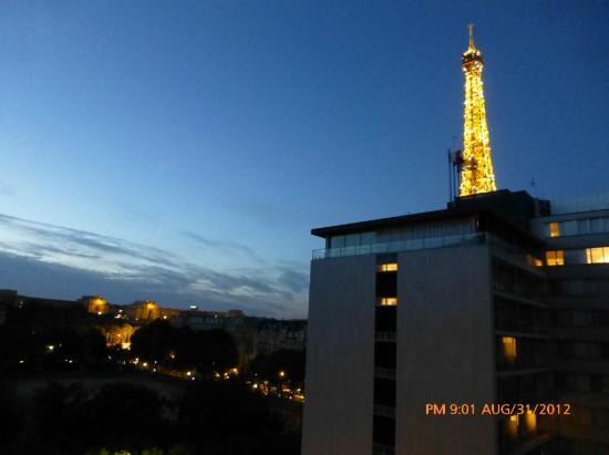 View From Room Picture Of Mercure Paris Centre Eiffel