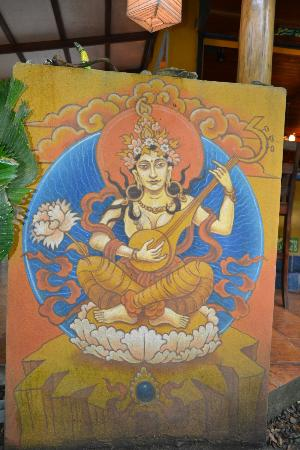 Casa Zen Guest House & Yoga Center: Painting