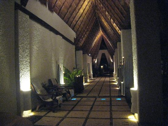 ‪‪Belmond Maroma Resort & Spa‬: The entrance to the Spa