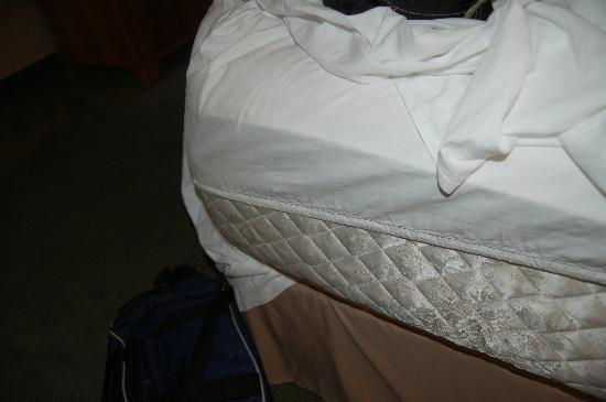 Mirabeau Park Hotel: Sheets don't fit the bed