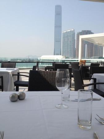 Spasso Italian Bar & Restaurant: great sea view