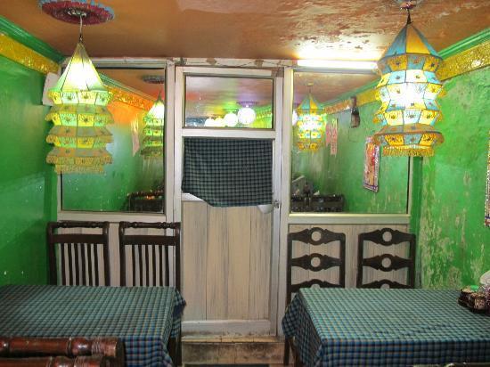 Malabar Restaurant : Kitchen is located behind this doors