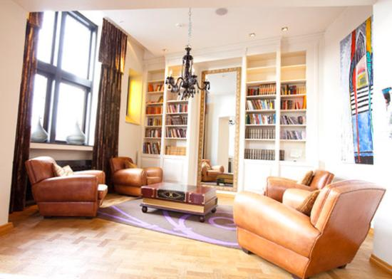 Clarion Collection Hotel Havnekontoret: Library