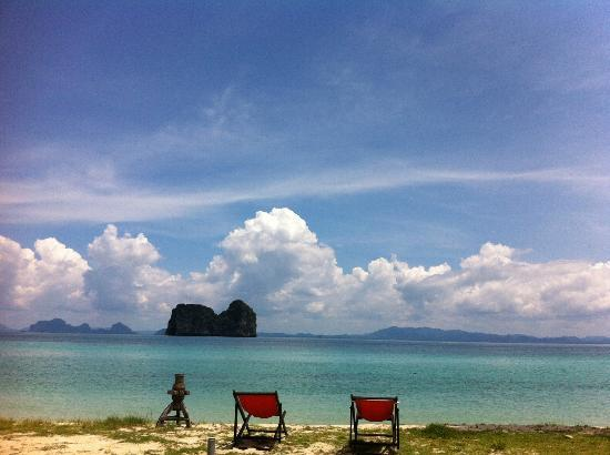 Koh Ngai Thanya Beach Resort: the sky again