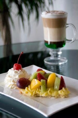 Il Gourmet: Tarta de frutas y café Moca Mint