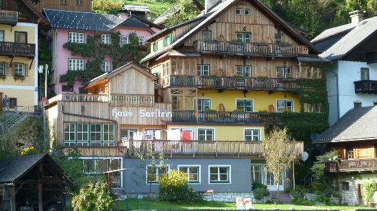 Pension Sarstein: View from the lake