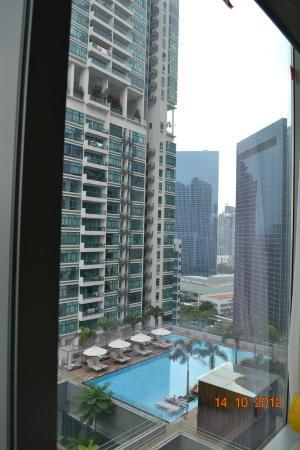 Oasia Hotel Novena, Singapore by Far East Hospitality: View from room