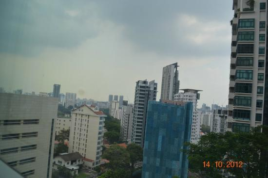 Oasia Hotel Novena, Singapore by Far East Hospitality: View from my window