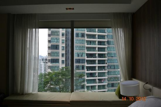 Oasia Hotel Novena, Singapore by Far East Hospitality: Building opposite my room