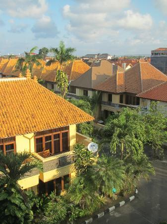 Best Western Resort Kuta: View from our room