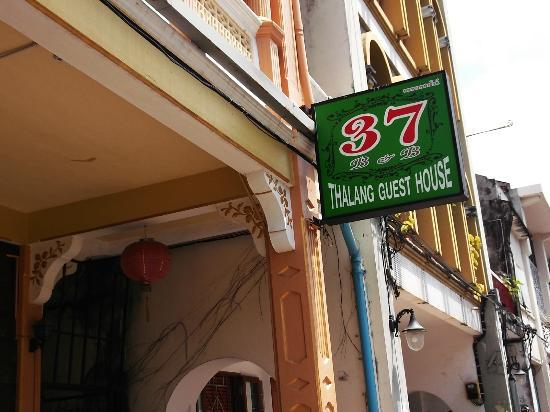 Thalang Guest House: easy to find