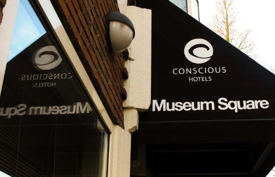 Conscious Hotel Museum Square: Luifel