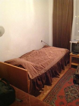 Slavutych Hotel: This is the bed you get!