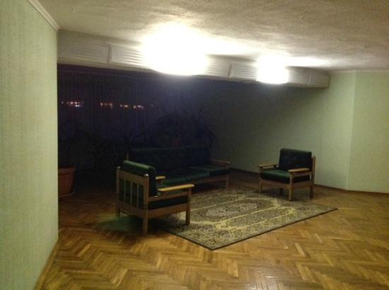 Slavutych Hotel: This is where you get your internet