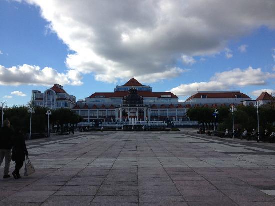 Sheraton Sopot Hotel : Rear of hotel