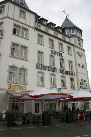 BEST WESTERN Hotel Kurfuerst Wilhelm I: 屋根の上にベッドが…