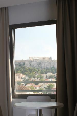 A for Athens: View from window of room