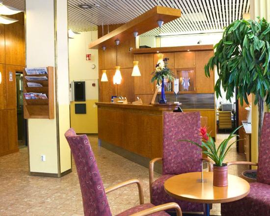 Cumulus Pori Hotel: Reception
