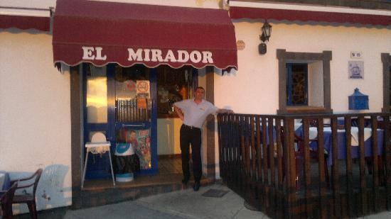 Restaurante El Mirador: Grande Carlito!!!!! Il Boss.....