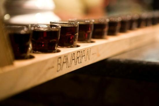 Bavarian Beerhouse Old Street: Ever tried a Schnapsmeter?