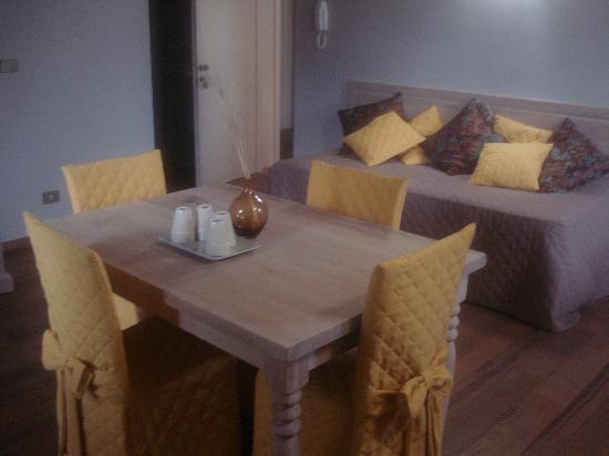 Villa Collio Relais: soggiorno-ingresso