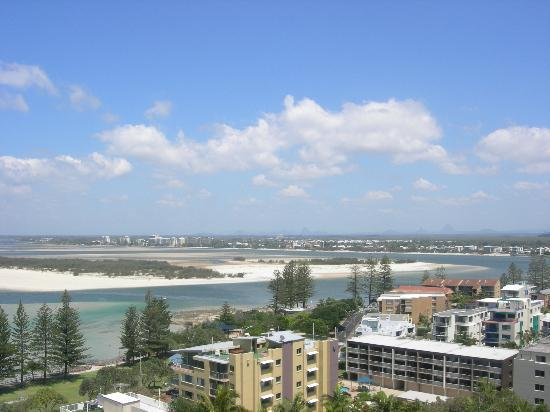 Aspect Caloundra: Only a portion of the balcony view