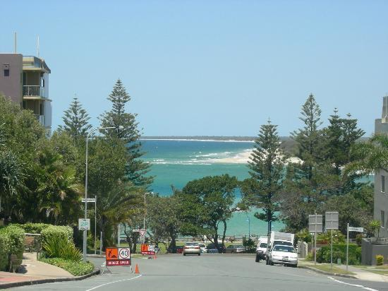Aspect Caloundra: View from the adjoining street.