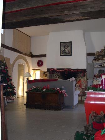 Domaine de la Bélie : The Living Room during Xmas-Time