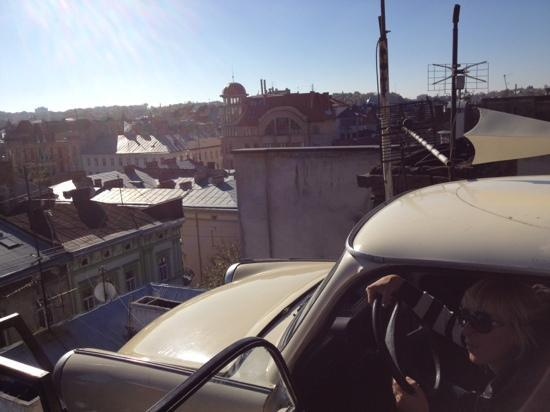 Dim Legend: trabant at the roof