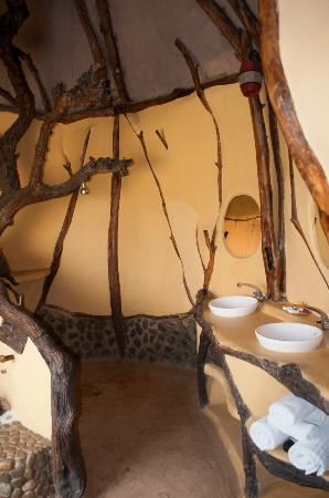 Amani Mara Camp: Das Bad