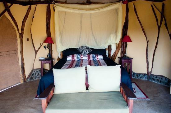 Amani Mara Camp: Schlafzimmer