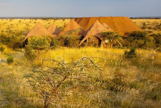 Amani Mara Camp: Das Außengelände