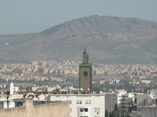 Zahrat al Jabal: Vue du restaurant panoramique