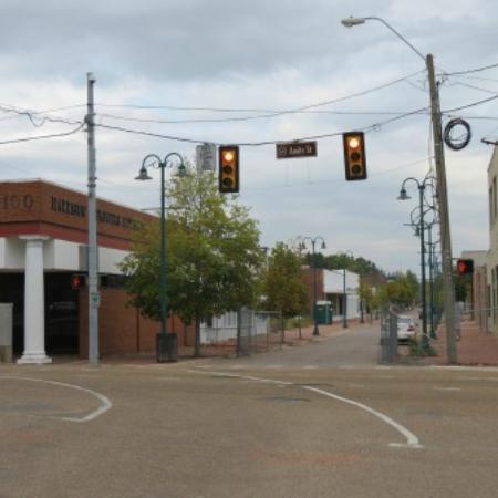 Jackson, MS: rue detruite