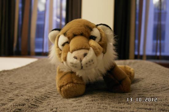 GLO Hotel Kluuvi Helsinki: тигр 
