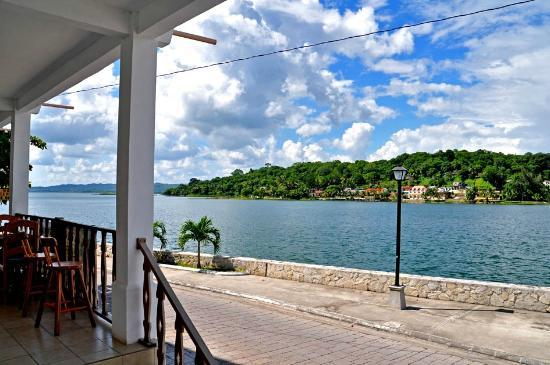 Flores, Guatemala: lake view