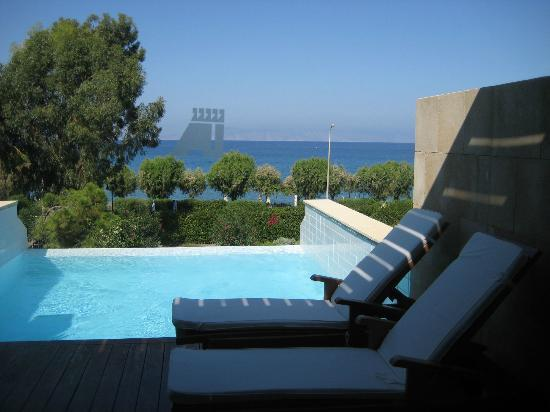 Elite Suites by Amathus Beach: Private Pool