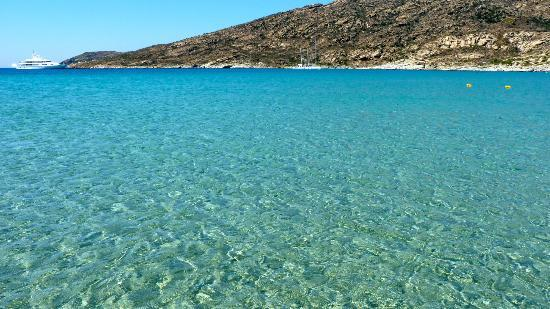 Yialos Ios Hotel: maganari beach