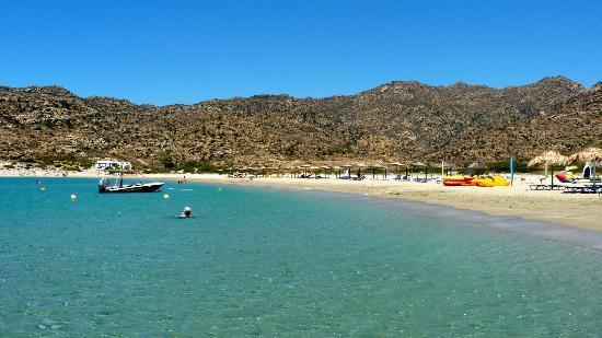 Yialos Beach Hotel: maganari beach