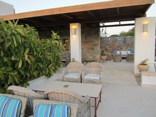 St. Nicolas Bay Resort Hotel & Villas : Terrasse du bar