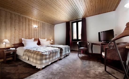 Hotel Restaurant Auberge de Savoie : Nos chambres standards