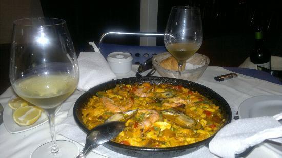 Restaurante El Mirador: paella gustosa el mirador