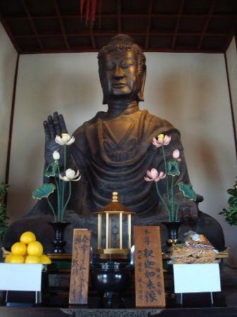 Asuka-dera Temple Old Site: 飛鳥大仏
